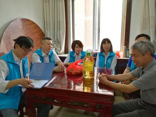 公司党委组织志愿者开展大走访活动