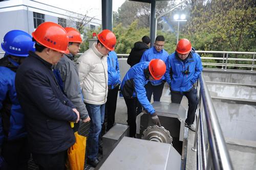 小湾水厂深度处理工程进入调试阶段