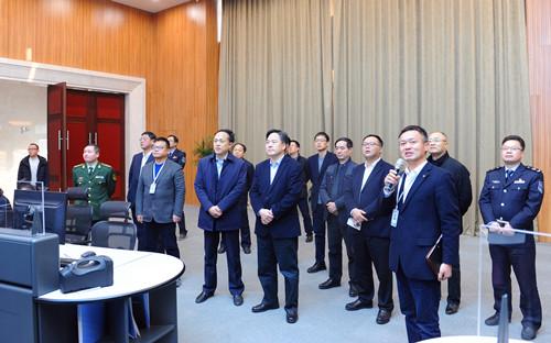 无锡市委常委、江阴市委书记陈金虎带队来公司督查安全生产工作情况