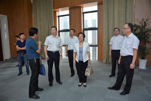 科技引领 智慧创新――市科协主席孔晓燕一行来公司调研