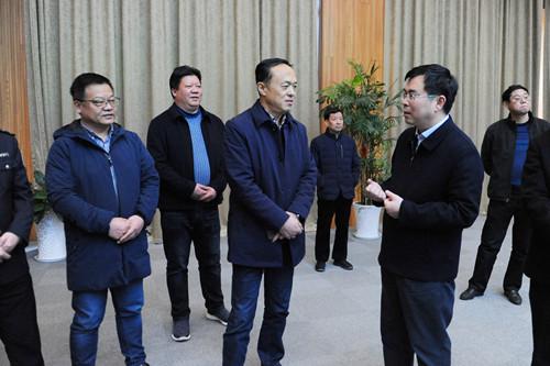 江阴市委副书记、市长蔡叶明带队来公司督查安全生产工作