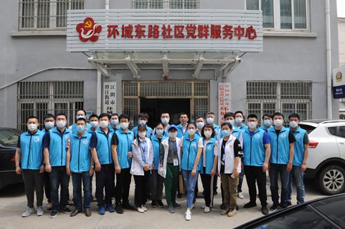 文明新风进社区 志愿精神广传播